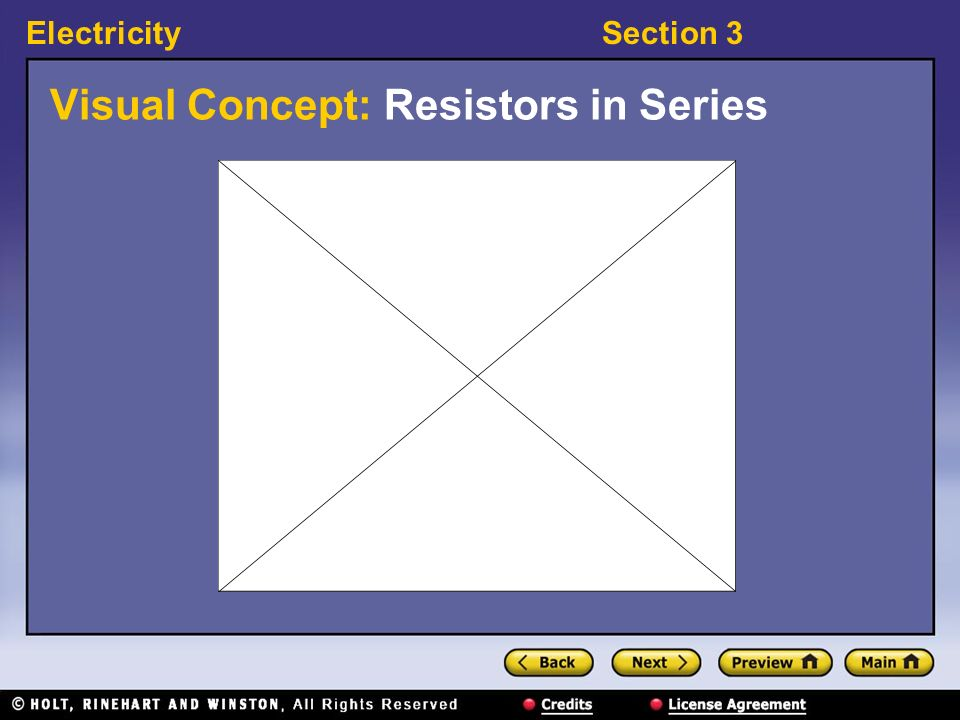 Visual Concept: Resistors in Series