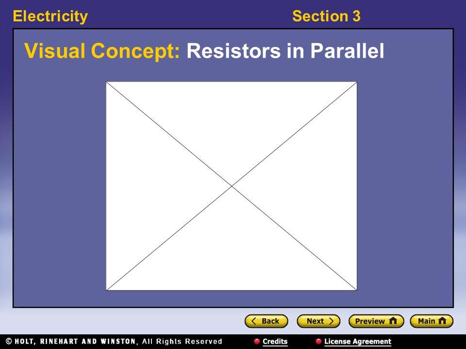 Visual Concept: Resistors in Parallel