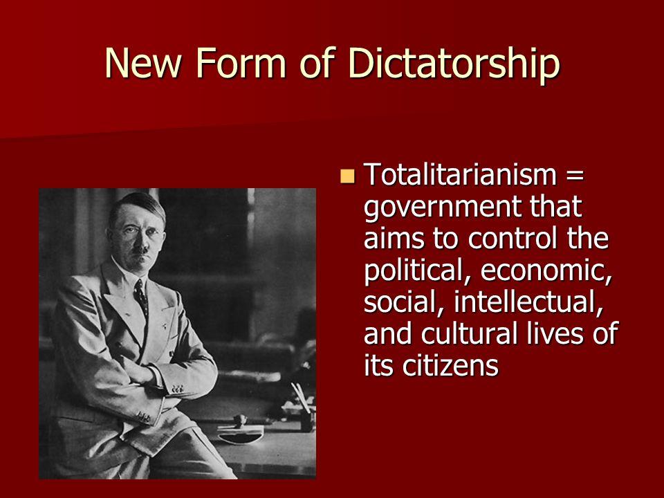 New Form of Dictatorship