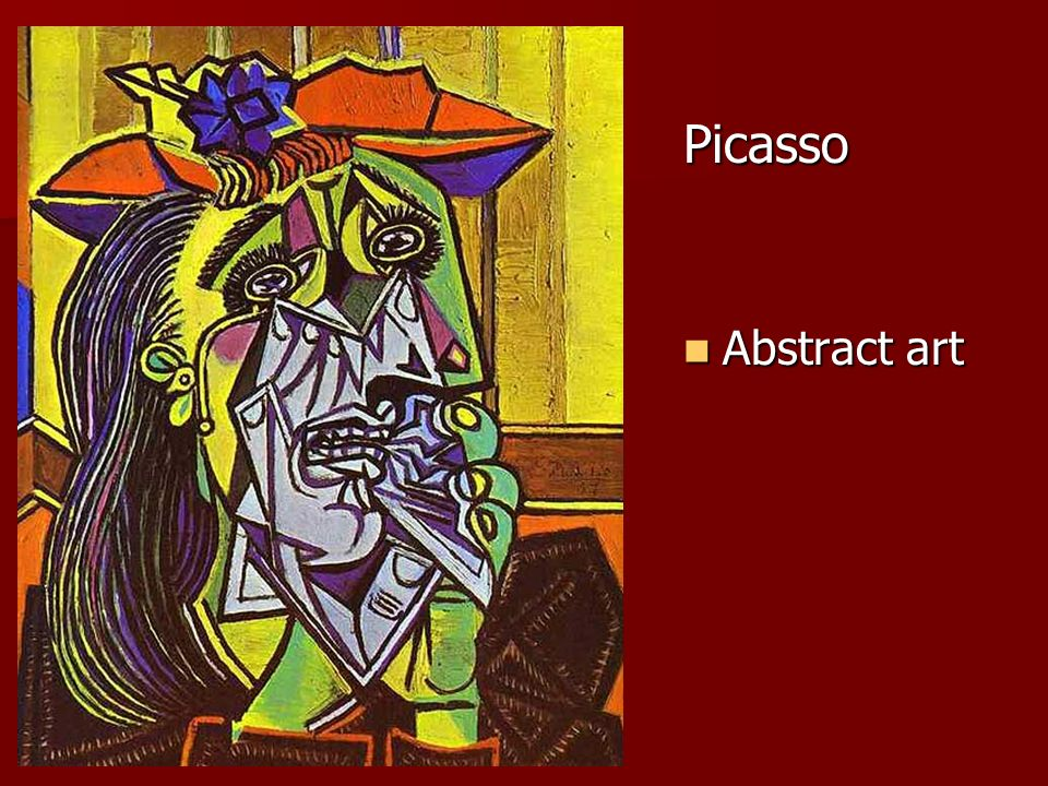 Picasso Abstract art