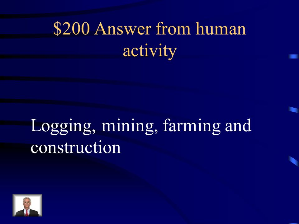 $200 Answer from human activity