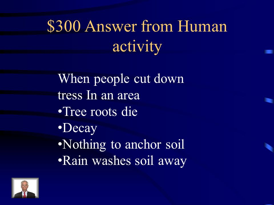 $300 Answer from Human activity