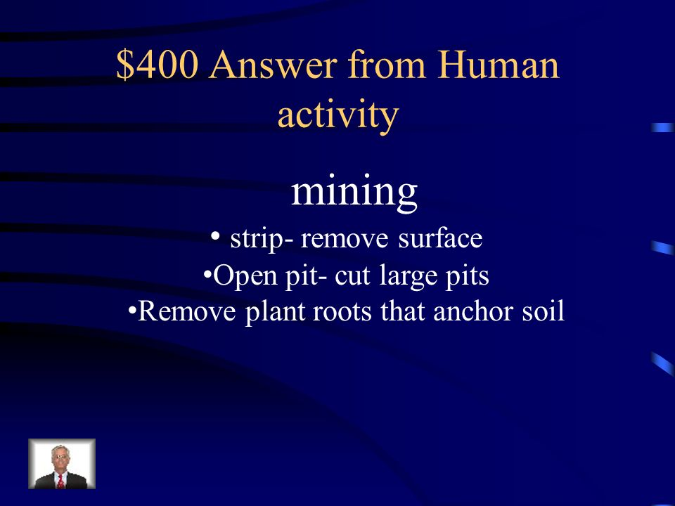 $400 Answer from Human activity
