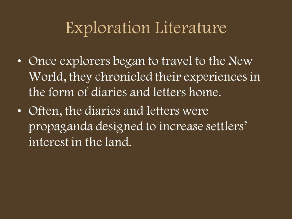 Exploration Literature