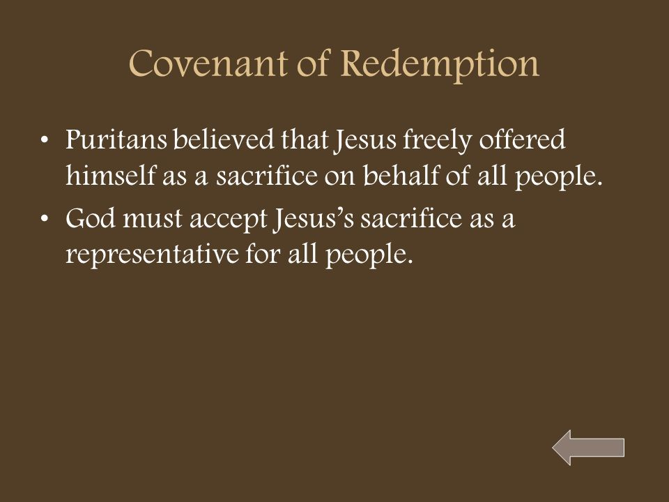 Covenant of Redemption