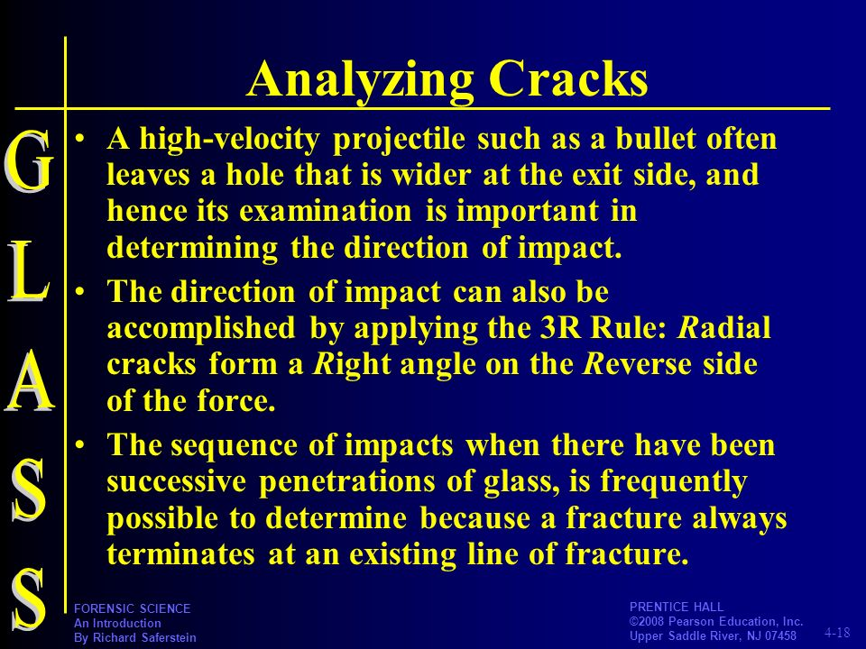 Analyzing Cracks GLASS