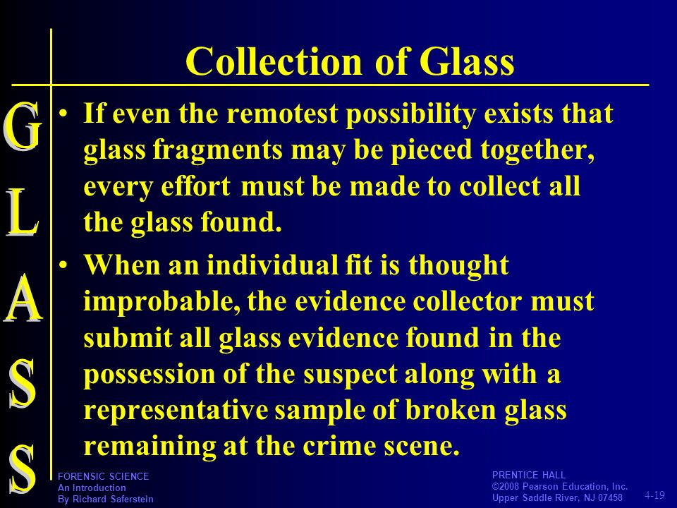 Collection of Glass GLASS