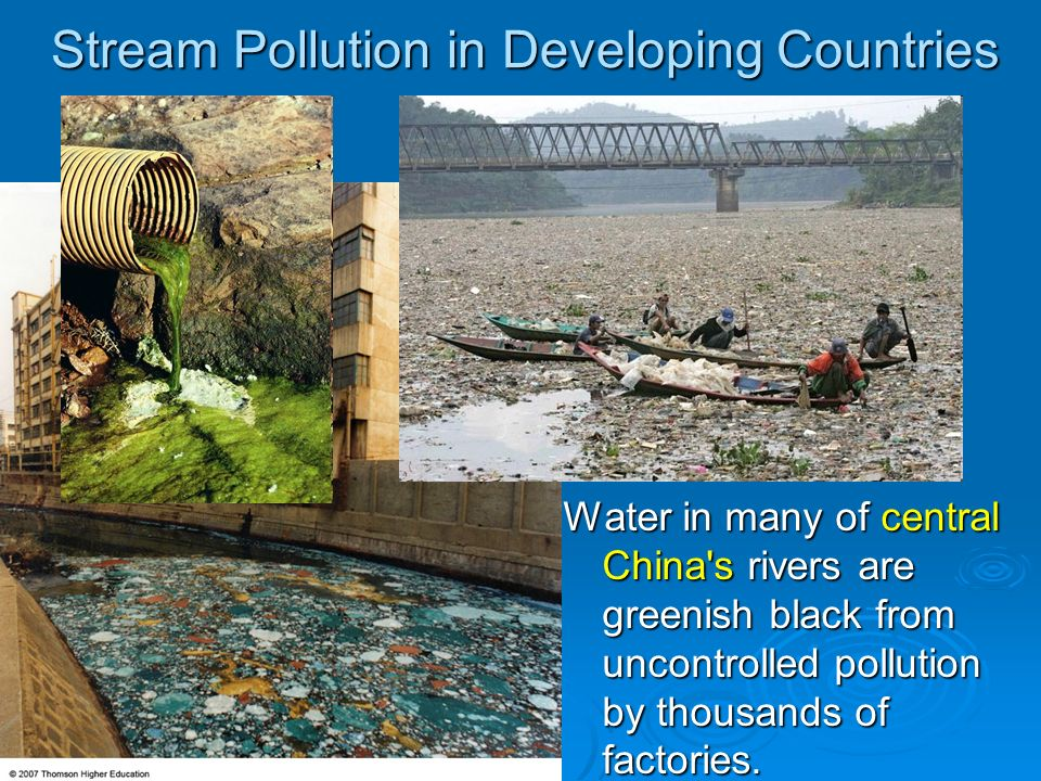 Stream Pollution in Developing Countries