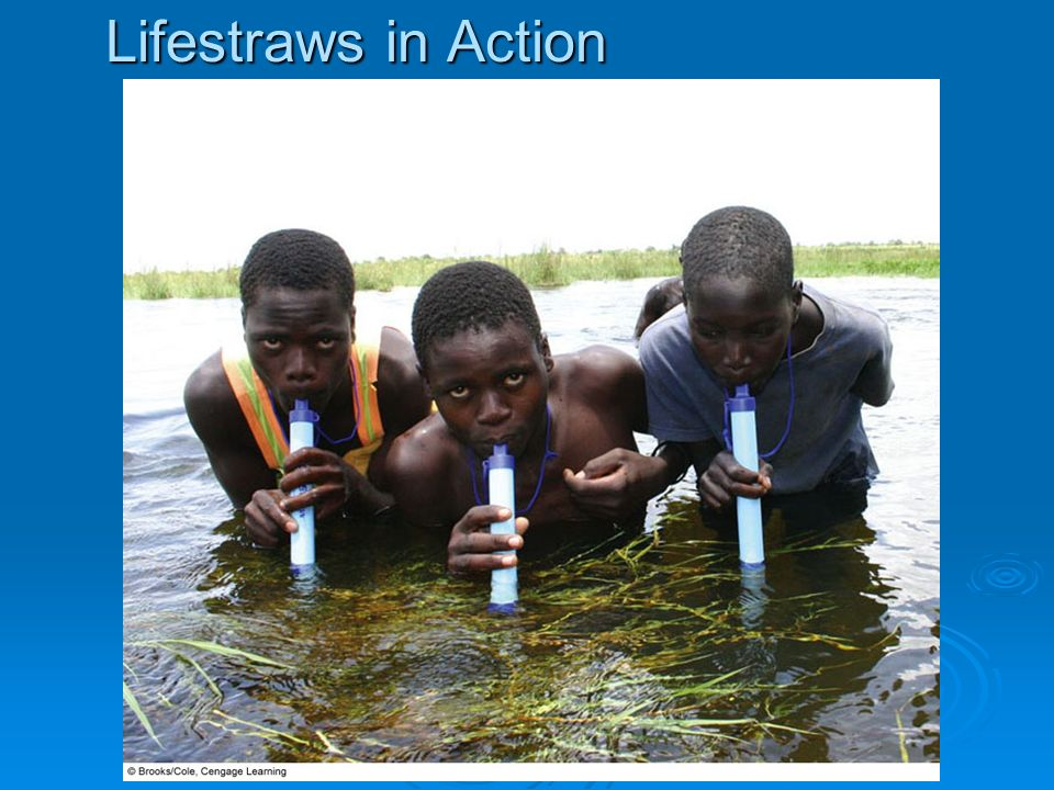 Lifestraws in Action