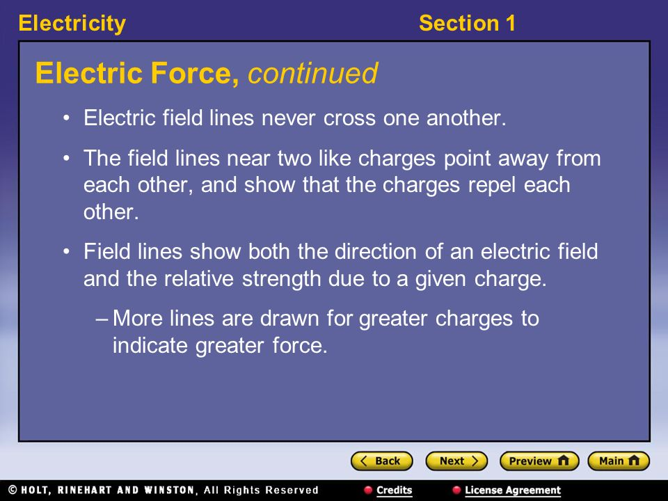 Electric Force, continued