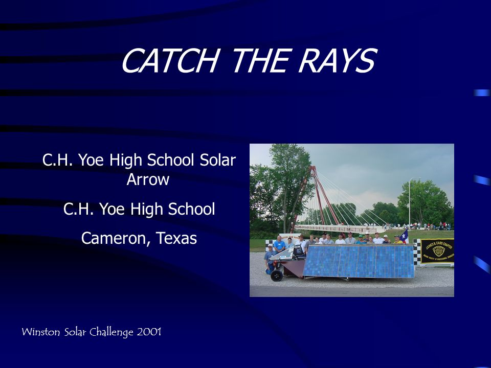 C.H. Yoe High School Solar Arrow