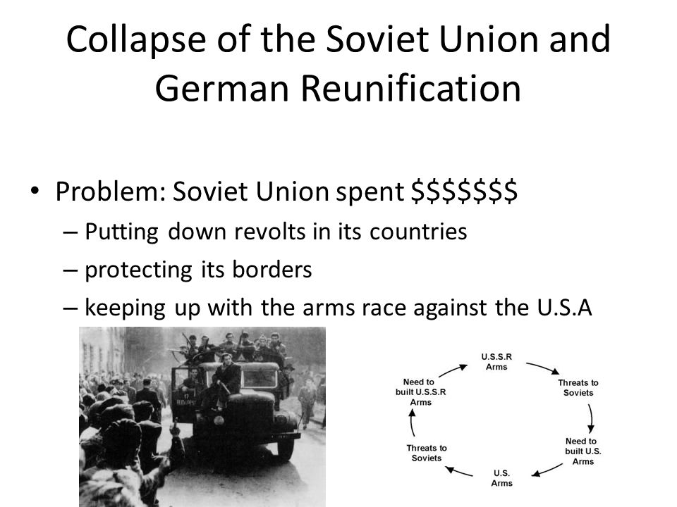Collapse of the Soviet Union and German Reunification