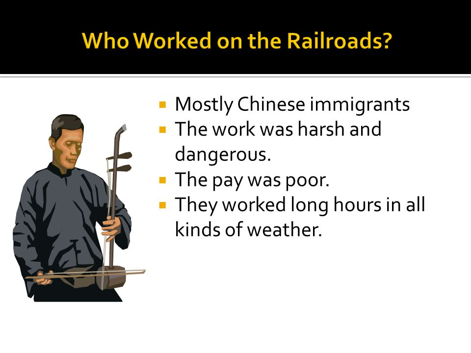Who Worked on the Railroads