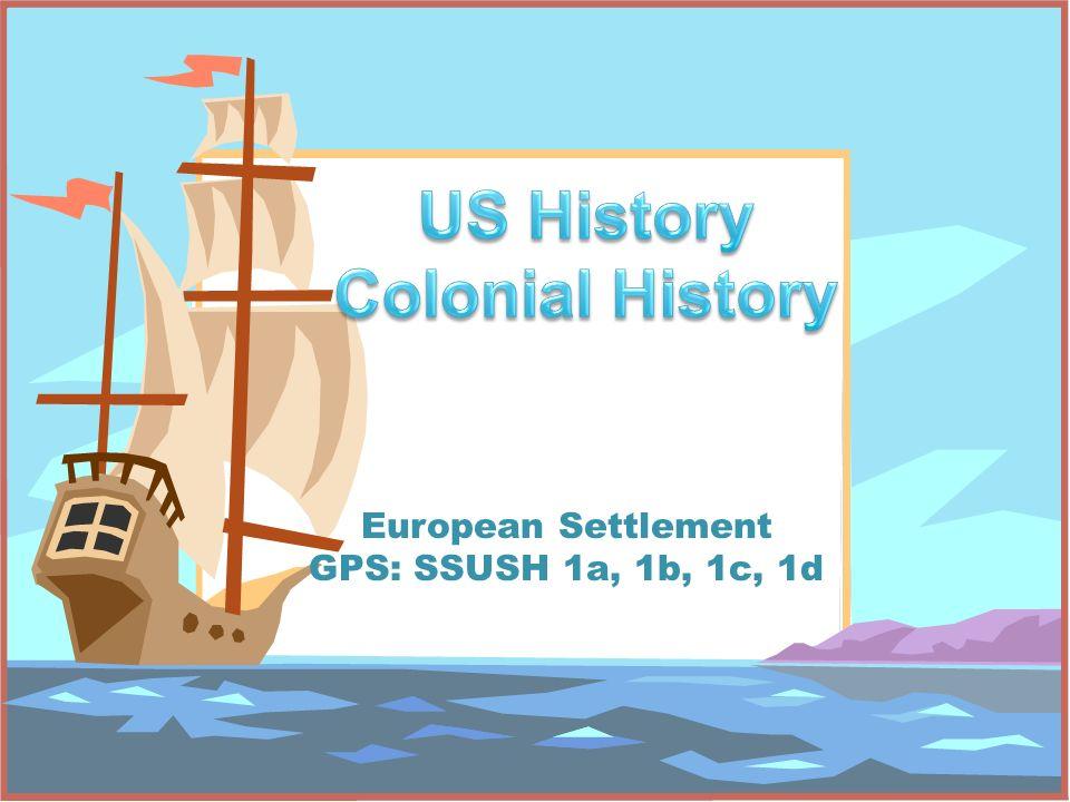 US History Colonial History