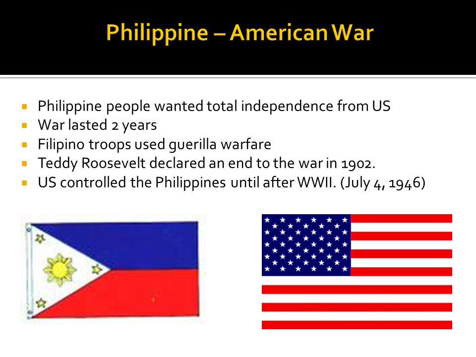 Philippine – American War
