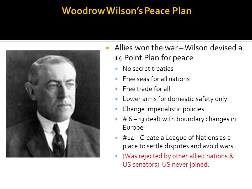 Woodrow Wilson's Peace Plan