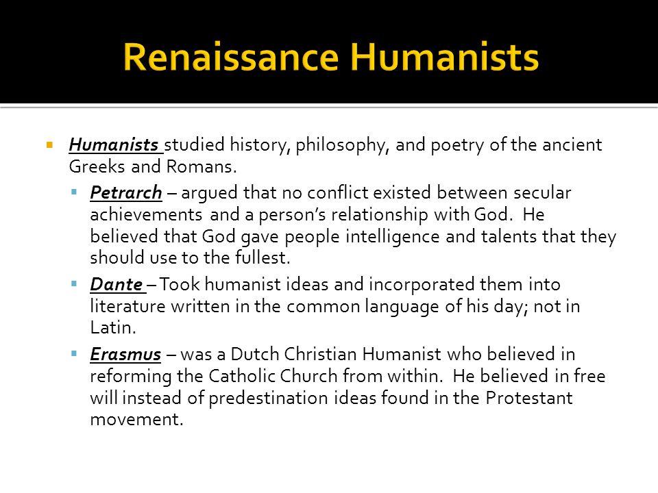 Renaissance Humanists