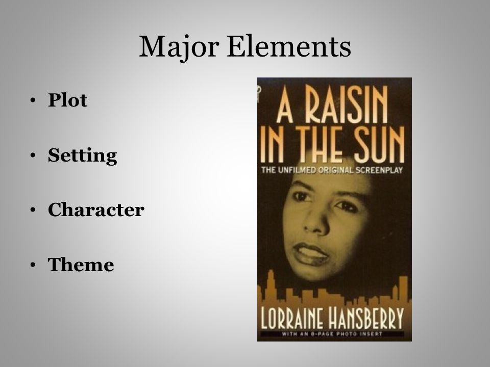 Major Elements Plot Setting Character Theme