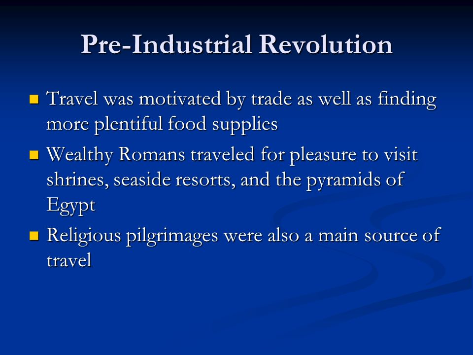 revolution of hospitality industry Another development in the hospitality industry was the categorisation of different types of hotels to name just a few, there are now spa and wellness hotels, sports hotels, seminar hotels, resorts, casino hotel and motels.