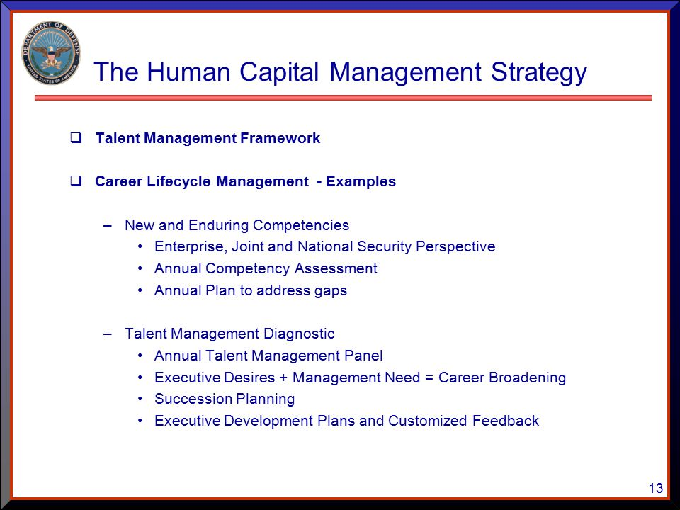 What Is Human Capital Planning?
