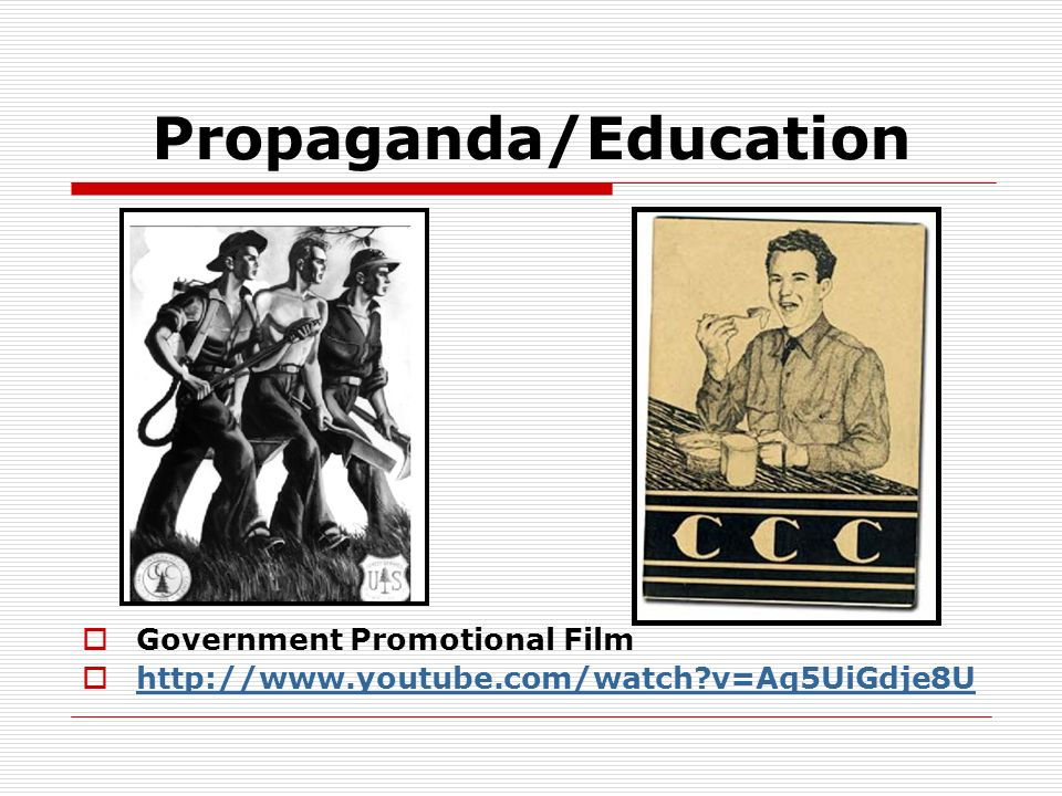 Propaganda/Education