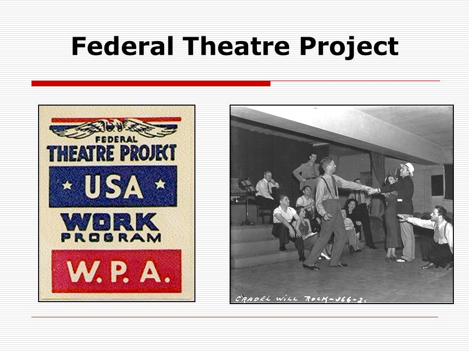 Federal Theatre Project