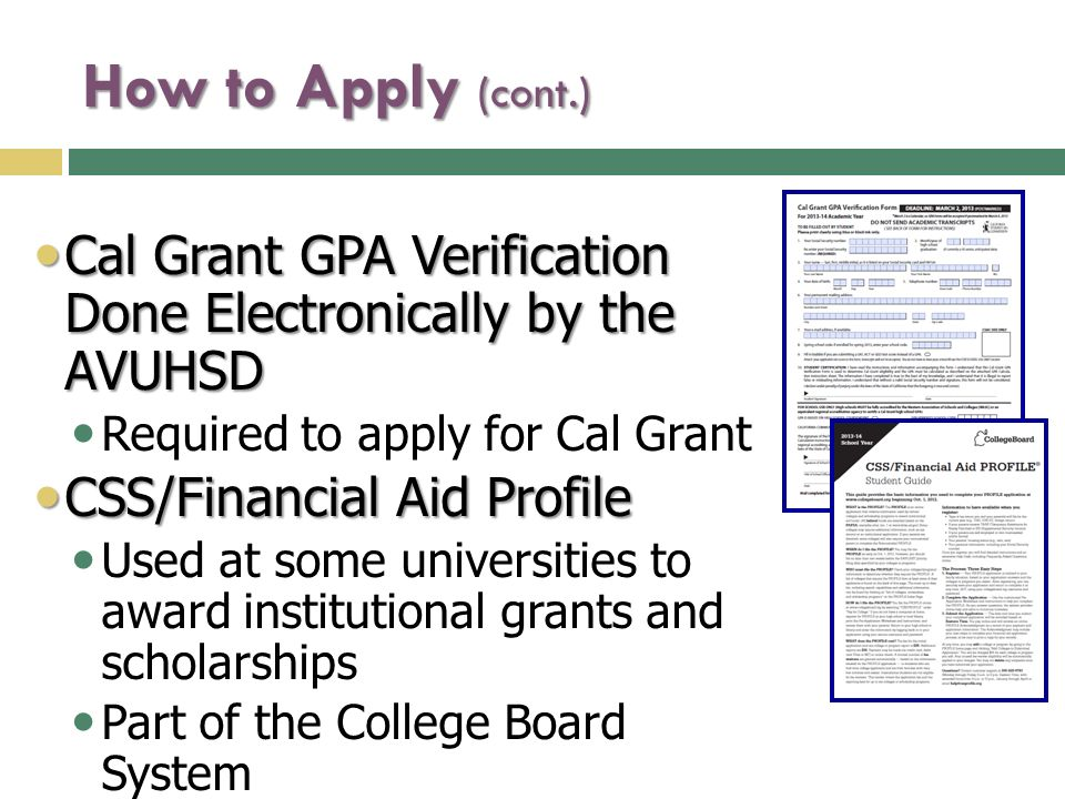 Applying for Financial Aid - ppt video online download