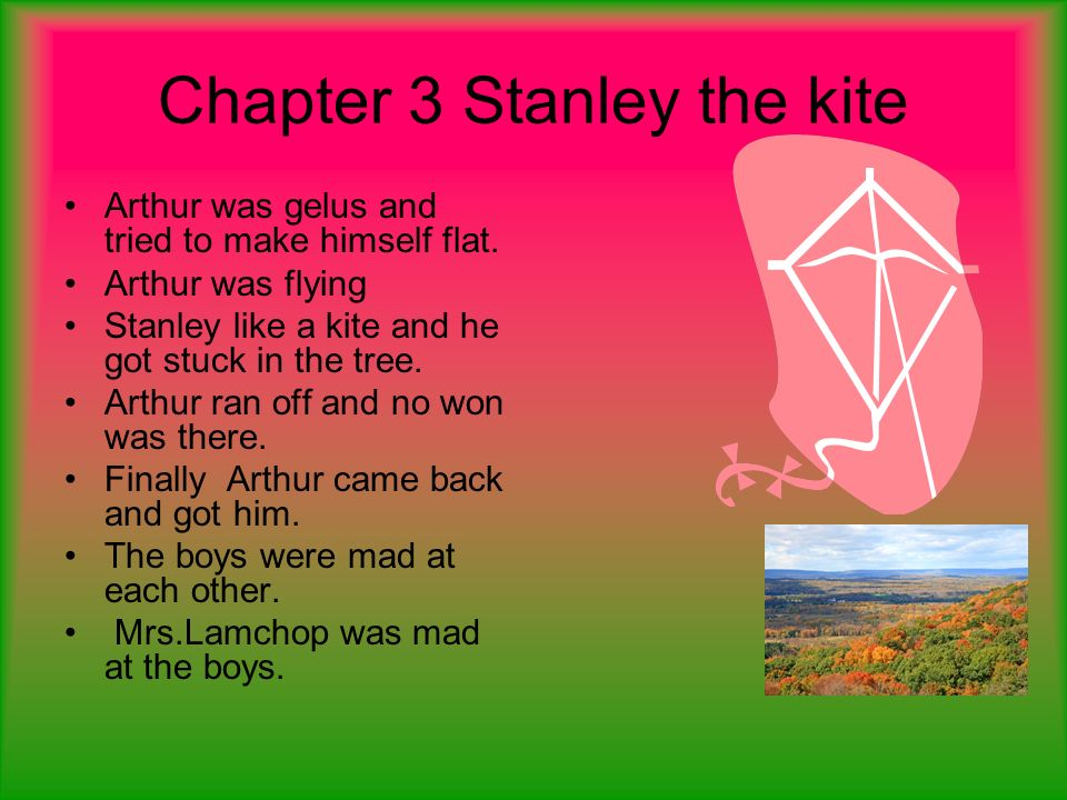 Chapter 3 Stanley the kite