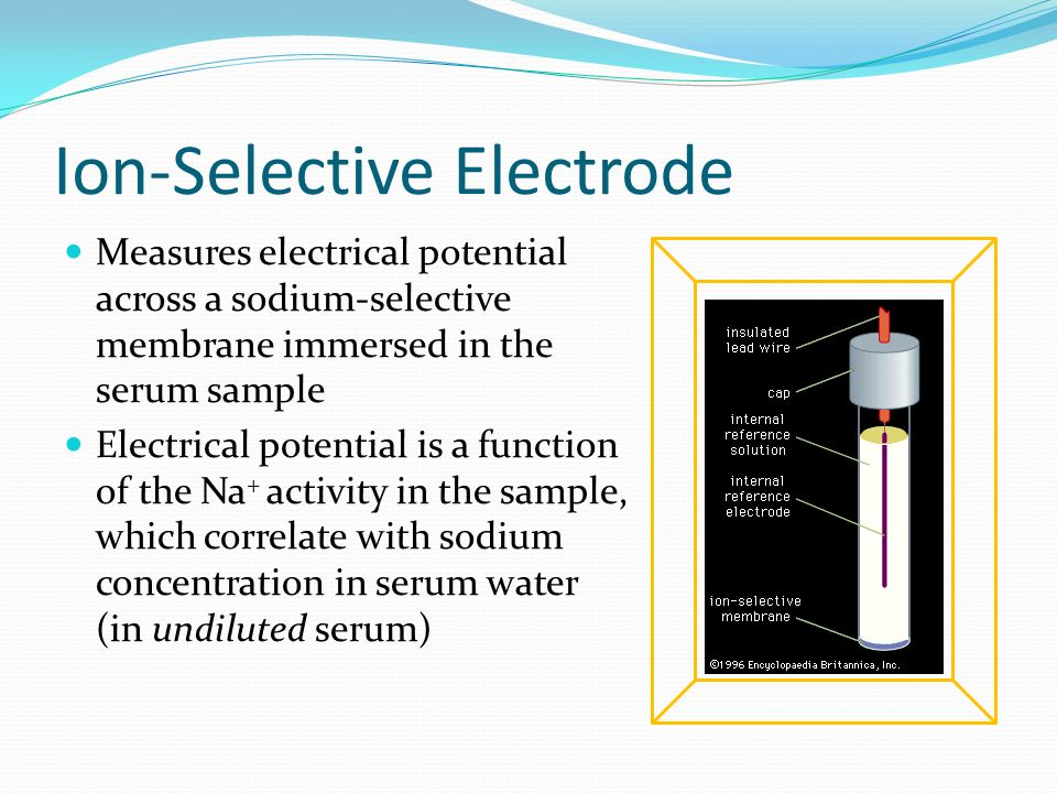 Ion-Selective Electrode