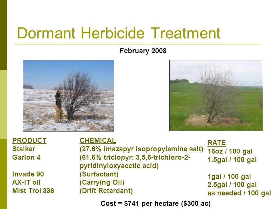 Dormant Herbicide Treatment