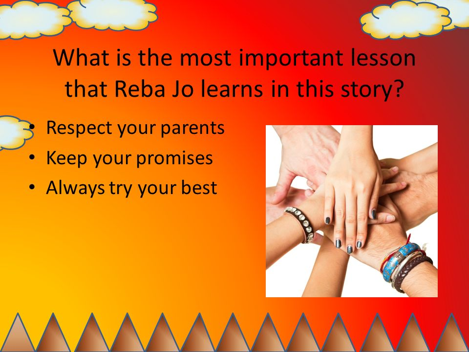 What is the most important lesson that Reba Jo learns in this story