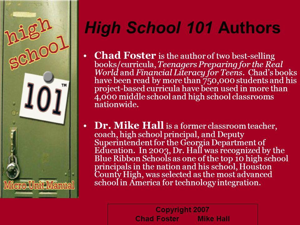 High School 101 Authors