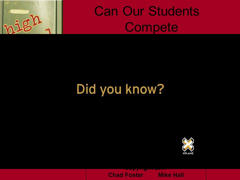 Can Our Students Compete
