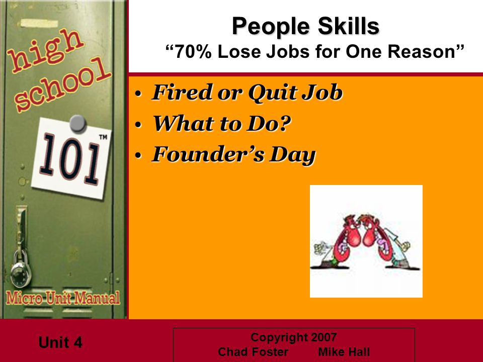 People Skills 70% Lose Jobs for One Reason