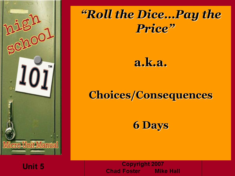 Choices/Consequences