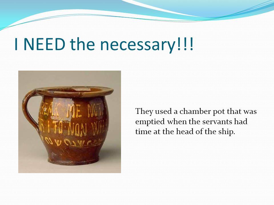 I NEED the necessary!!.