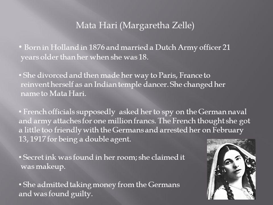Mata Hari (Margaretha Zelle)