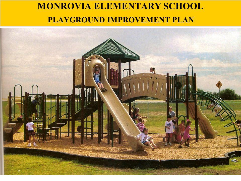 MONROVIA ELEMENTARY SCHOOL PLAYGROUND IMPROVEMENT PLAN