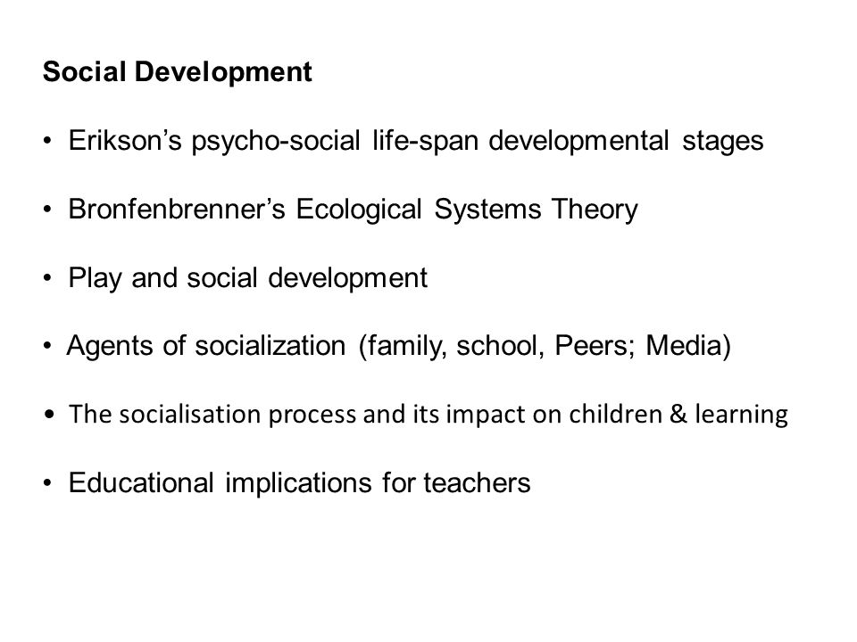 the impact of attachment on a childs psycho social development Another study in south korea by jung14) with 239 dyads of preschool children and their mothers confirmed that children's attachment patterns were related to their mothers' attachment patterns to their own mothers parental insecure attachment styles also have a crucial impact on the development of psychiatric manifestations in school-aged children.