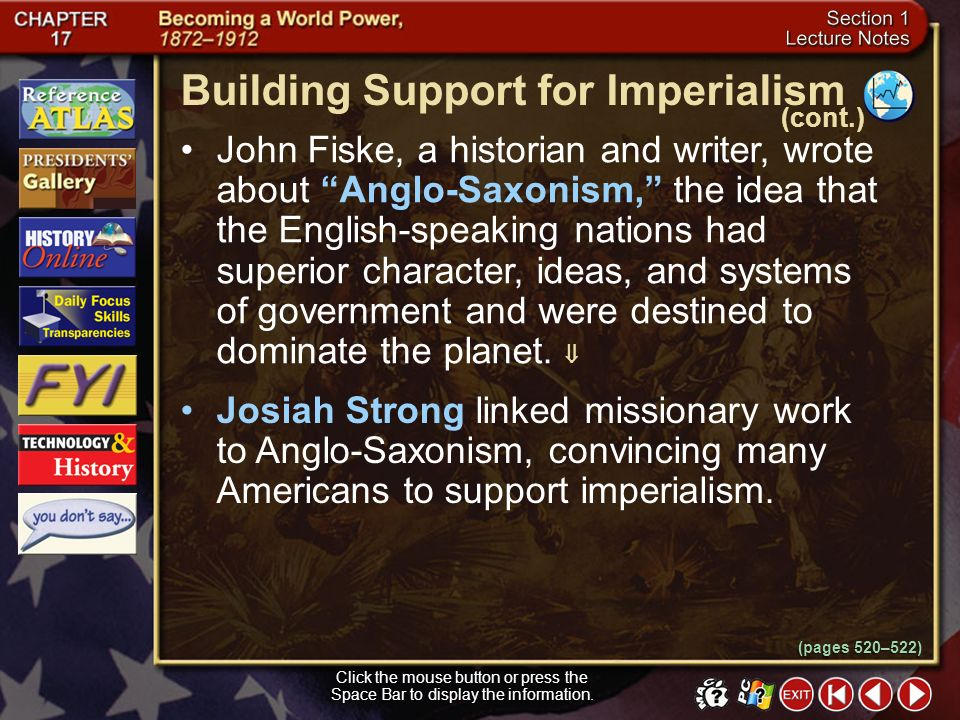 Building Support for Imperialism