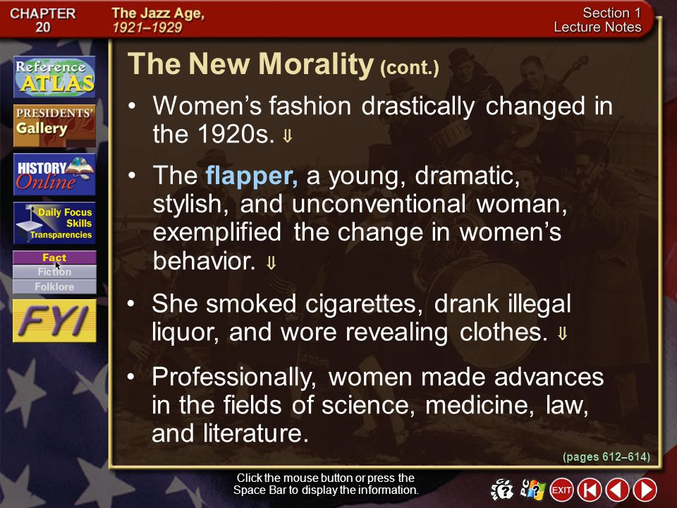 The New Morality (cont.)
