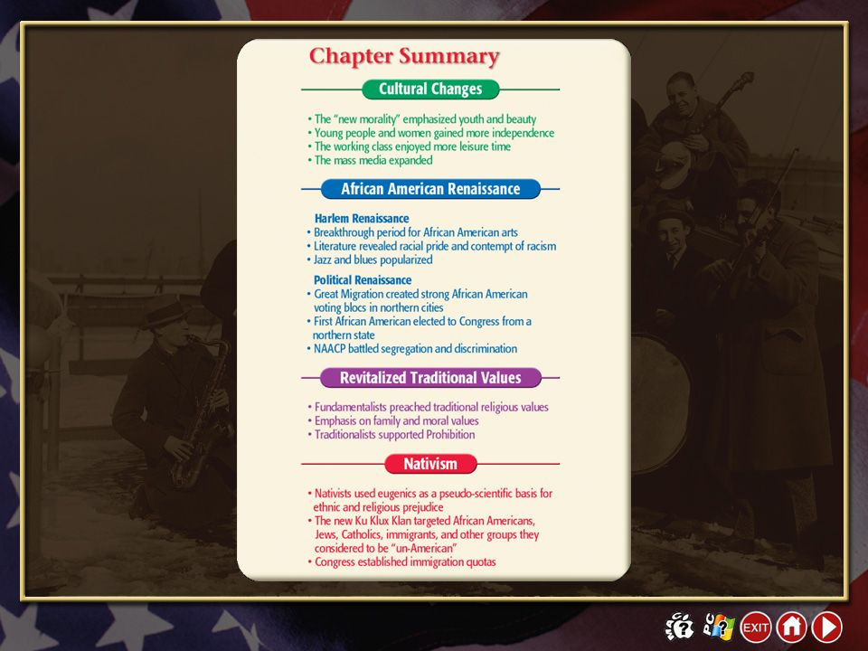 Chapter Summary 1