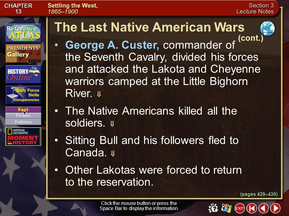 The Last Native American Wars
