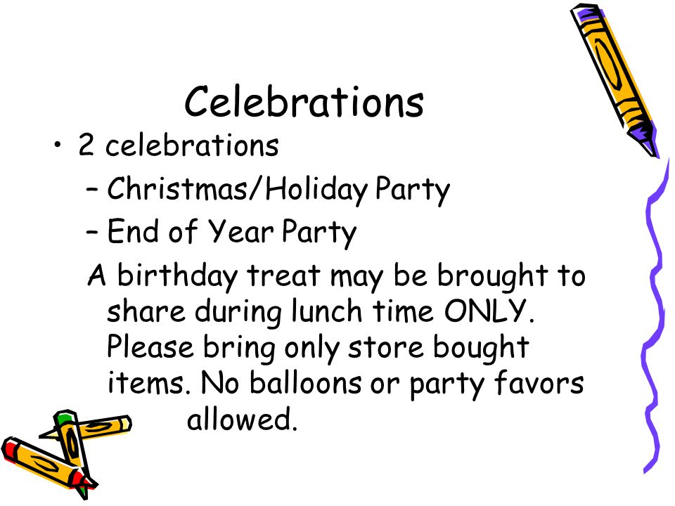Celebrations 2 celebrations Christmas/Holiday Party End of Year Party