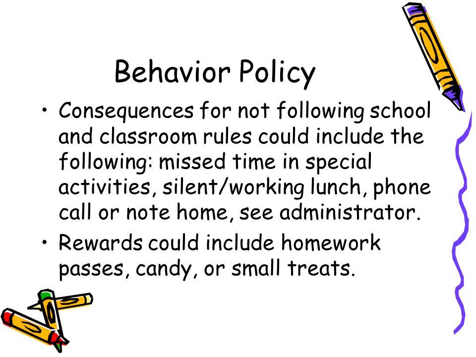 Behavior Policy