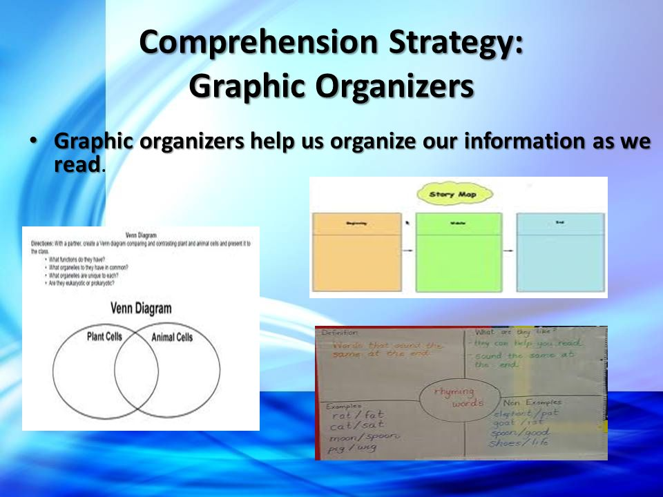 Comprehension Strategy: Graphic Organizers