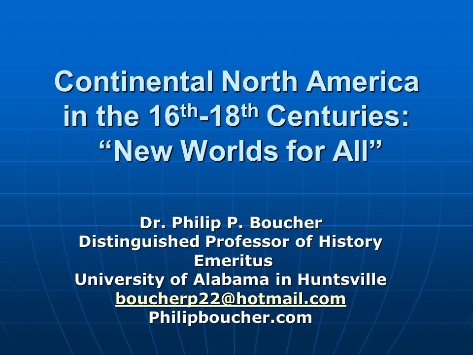 Distinguished Professor of History University of Alabama in Huntsville