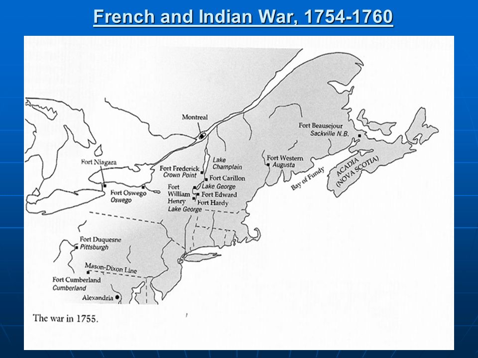 French and Indian War, 1754-1760