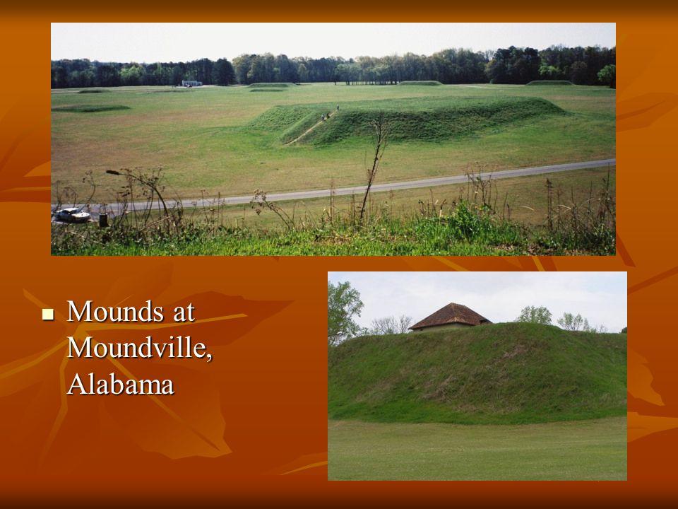 Mounds at Moundville, Alabama