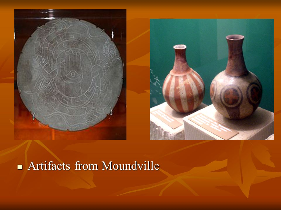 Artifacts from Moundville